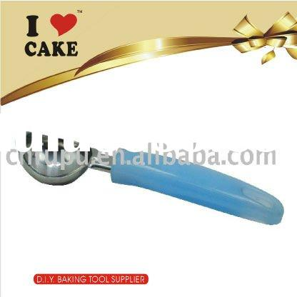 KT-004Z Stainless Steel Ice Cream Scoop With Plastic Handle