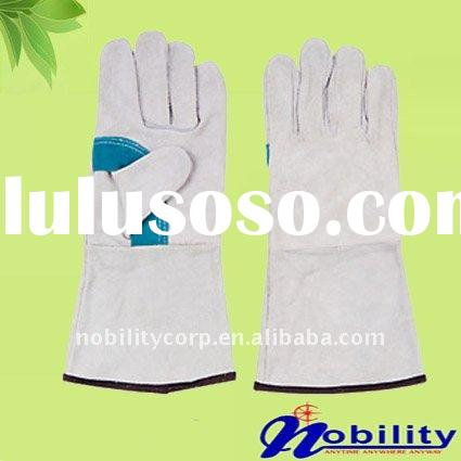 Leather working glove for personal protection products