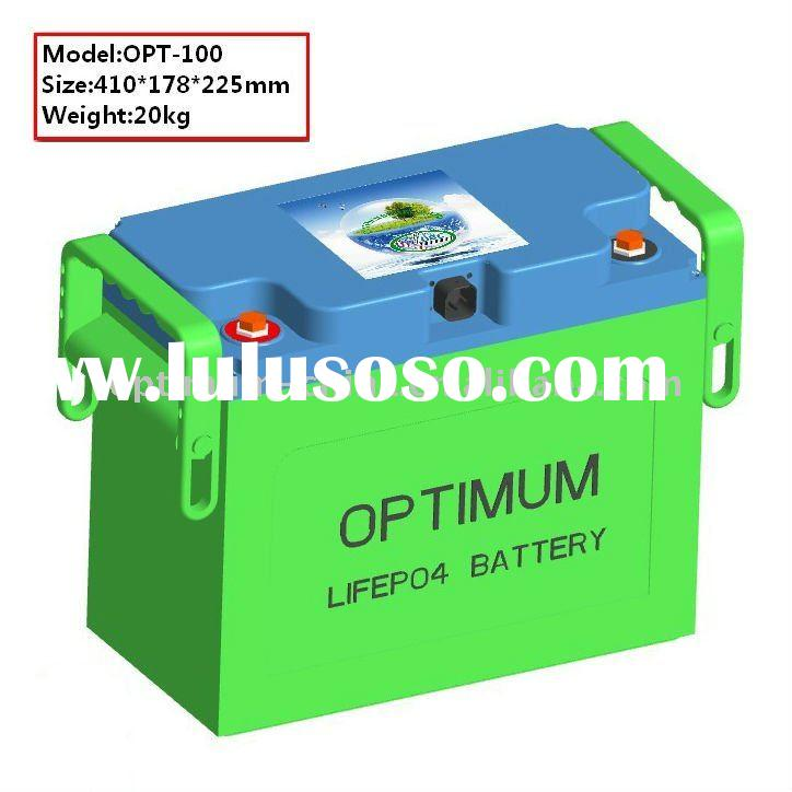 Long life span 24V 84AH lithium iron phosphate battery pack for solar pv system