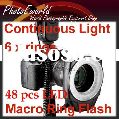 Macro Ring Flash LED Light for Canon 1000D 500D 450D 7D 5D