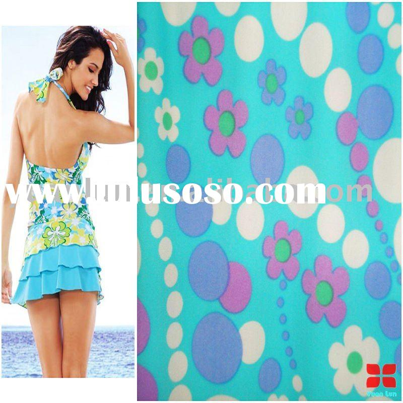 Print swimwear fabric with lots of printing patterns to choice