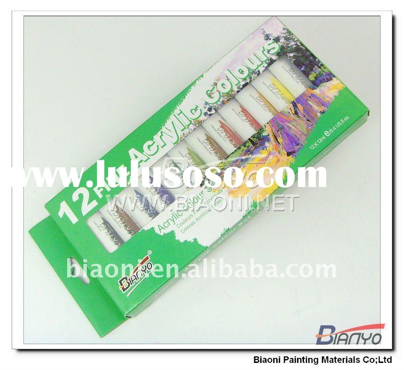 Professional 12ml acrylic color & acrylic paint color