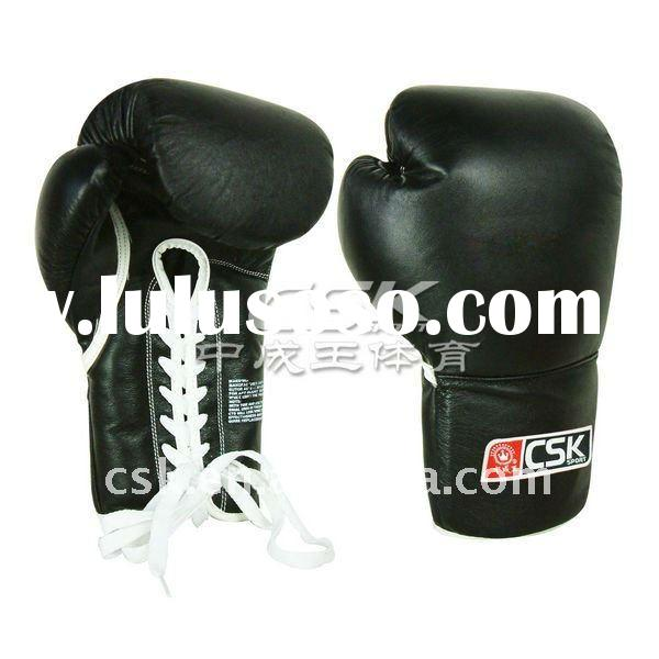 Professional leather boxing gloves/gloves boxing