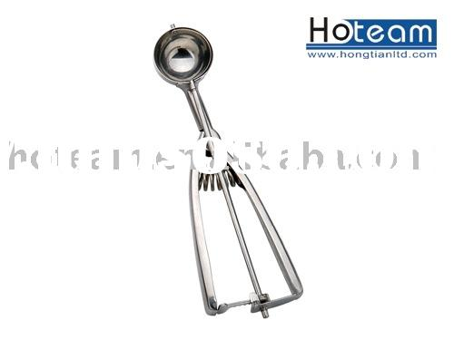 Stainless steel ice cream spoon / cookie scoop / ice cream scoop
