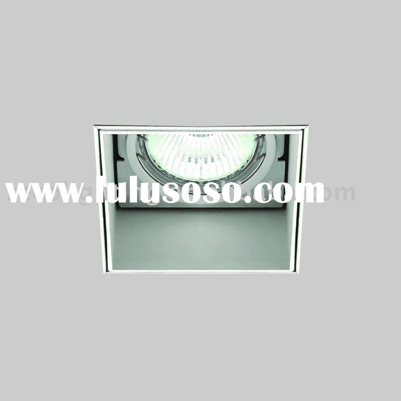 TRIMLESS downlight, LED recessed downlight, square downlight, invisable downlight, spot downlight