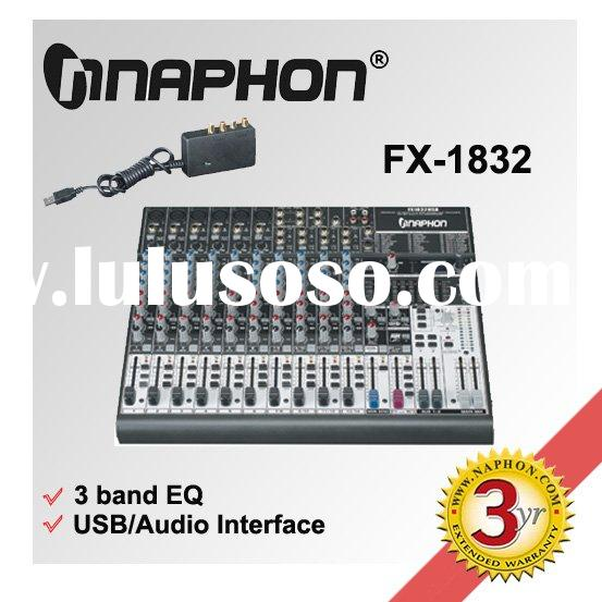 USB Audio Mixer /Sound Card Professional Mixing Console FX1832