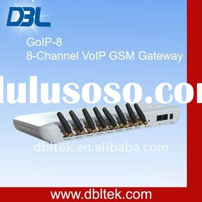 VoIP Solution/Hot-selling VoIP GSM Gateway Support SIM Card(GoIP 8)