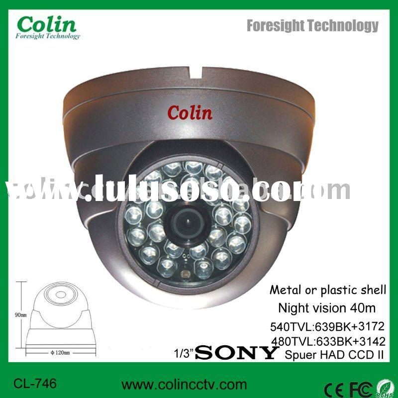 Wholesale China Professinal factory Indoor waterproof cctv camera with new white light technology