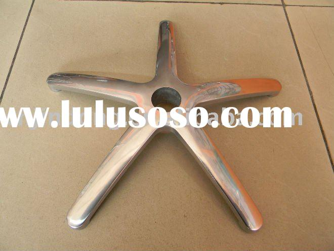 aluminum alloy die-casting office 5-star chair base