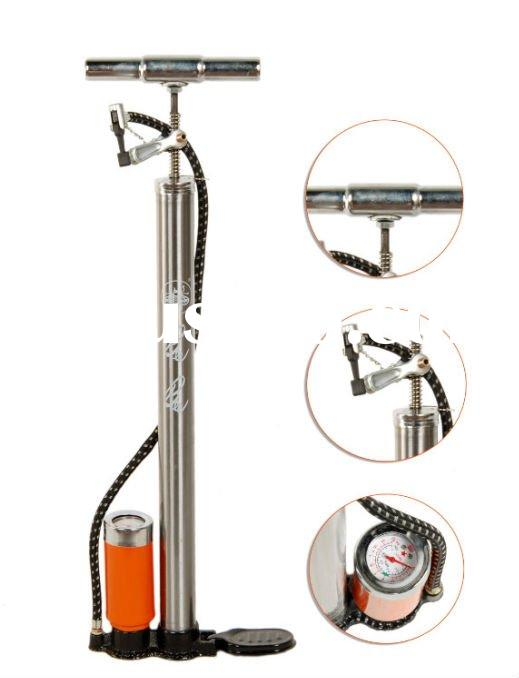 bicycle pump with tank