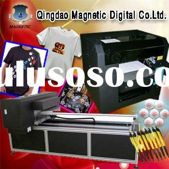 black and light color t shirt printing machine