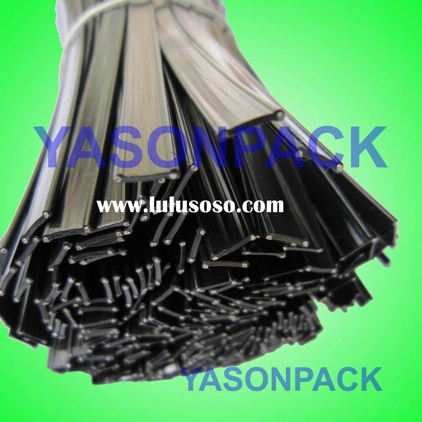 black and white gift/bags twist tie for bag packaging