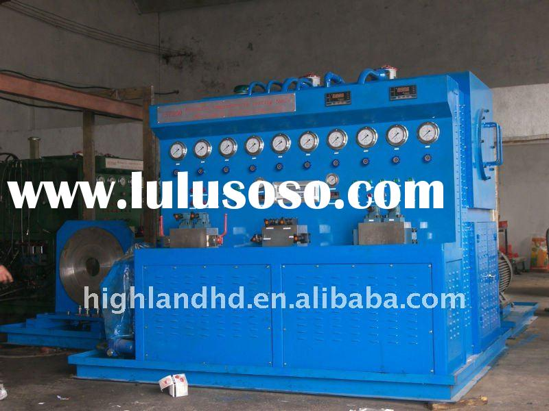 computer Hydraulic cylinder testing table