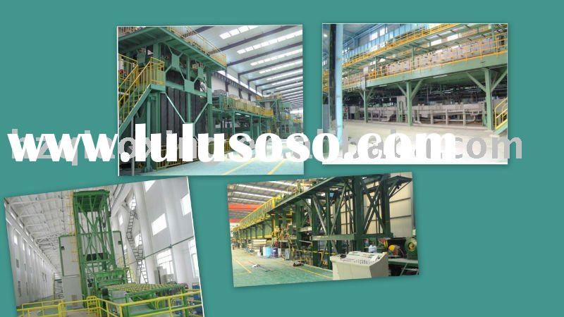 continous steel and aluminum coil coating line/CCL