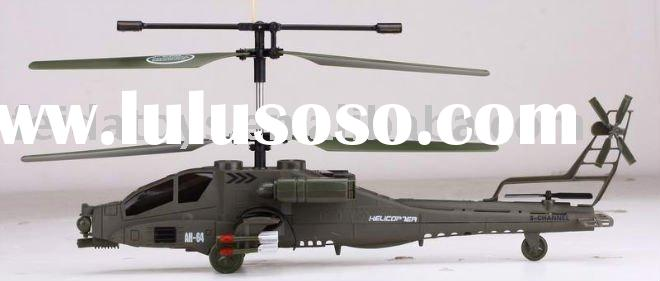 hot sale 3ch rc apache helicopter(Syma)