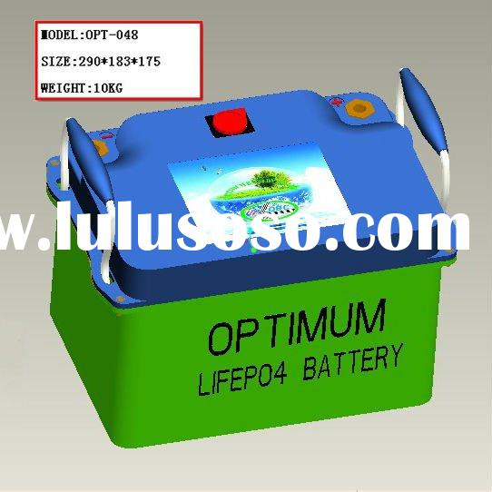 long life span 32AH lifepo4 battery pack for electric quad/patrol car