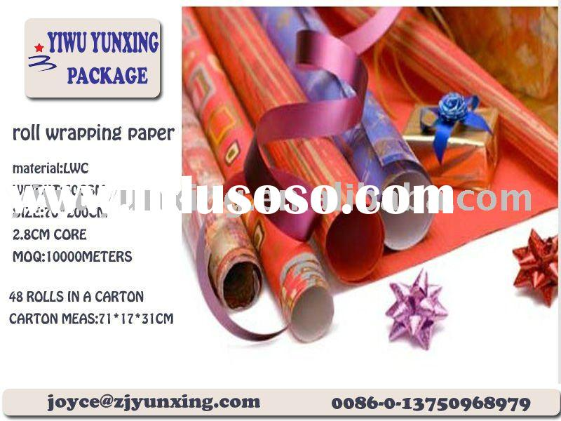 offset printing gift wrapping paper