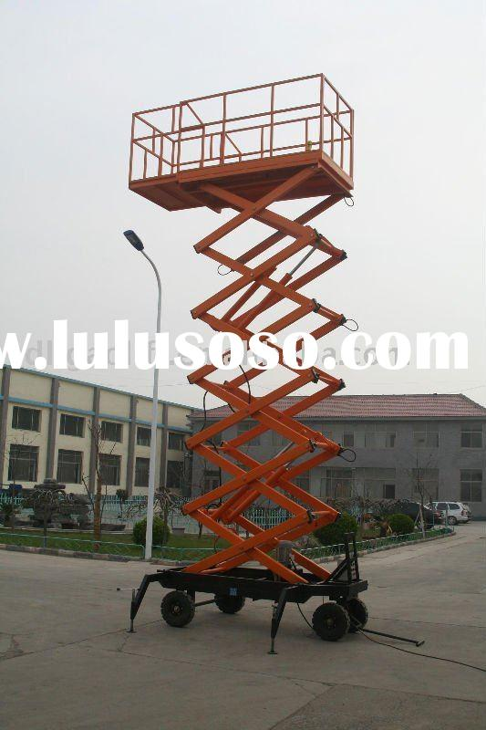 scissors lift, lift hoist, auto hoist, parking lift, hydraulic lift, aerial work table, aerial wo