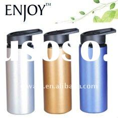 wide mouth aluminium sports bottle