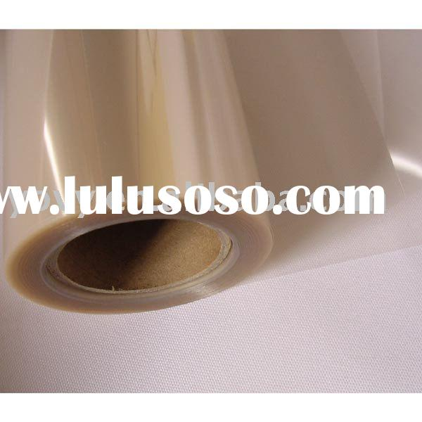 0.1mm Matte Transparent Plastic inkjet printing PET Film Roll or Sheet for All Inkjet Printers