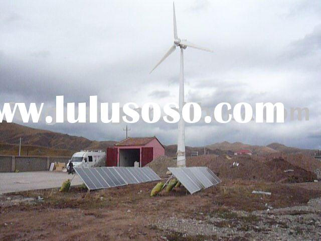 10kw Hybrid solar wind power generator
