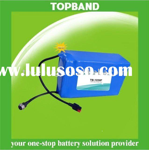 12v 20Ah High Power LiFePo4 Battery Rechargeable for Scooter/E scooter with PCM Factory Price