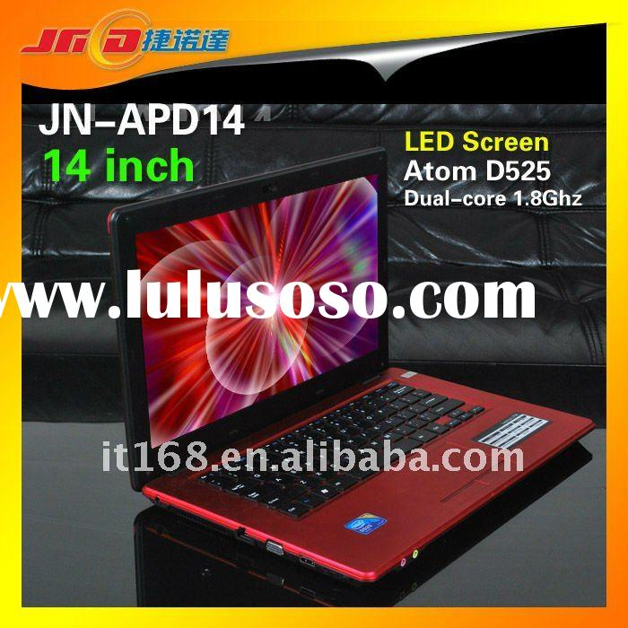 """14"""" D525 mini netbook with Wifi DVD-RW LED wide screen"""