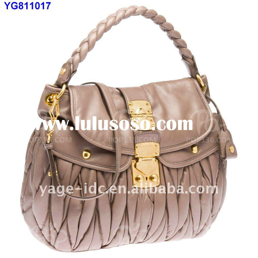 2011-2012 Trendy Women's classic leather handbags