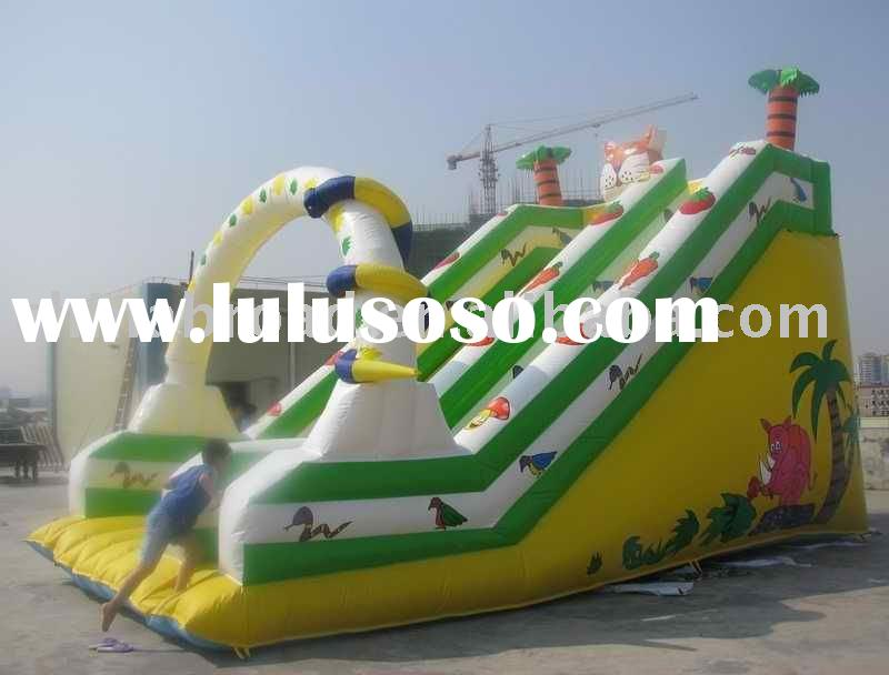 2011 Hot selling giant inflatable water slide