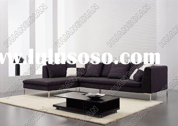 2011 Modern furniture living room L shape sofa HDS029