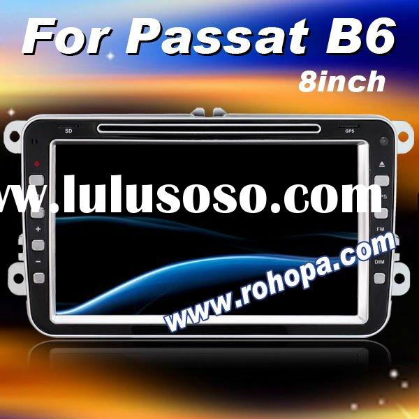 2011 Newest 8 Inch 2 din Car Multimedia Player For Volkswagen Passat B6 With phone book & aircon