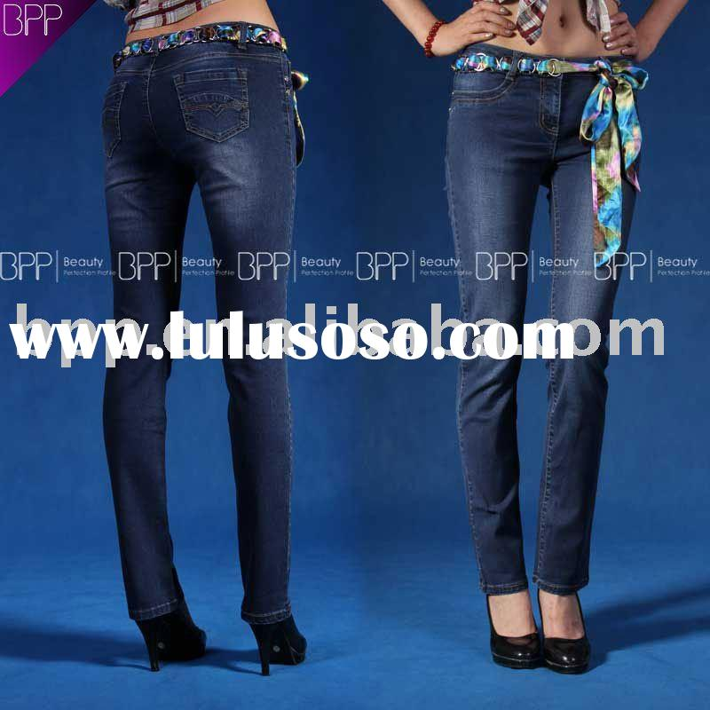 2011 fashion 100 cotton denim jeans