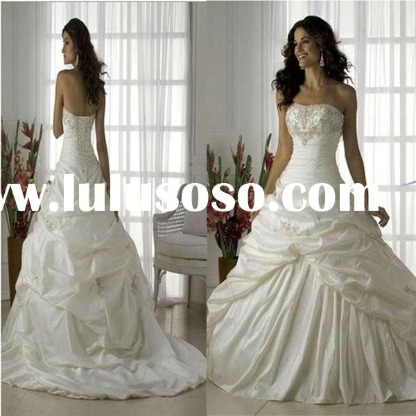 2011 new bridal gown H66