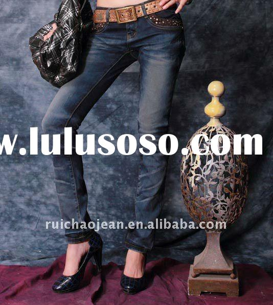 2012 New Model Wholesale Brazilian Womens Fashion Jeans Denim WJ0004