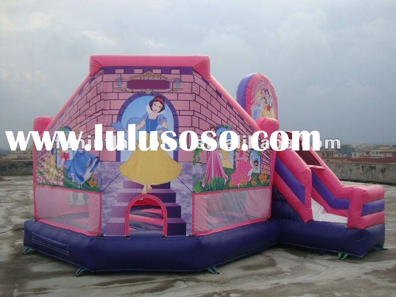 2012 more popular inflatable princess bouncy castle