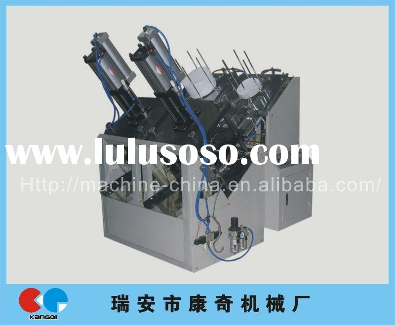 2012 new good quality with price double working station paper plate machine price