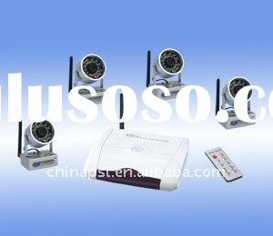 2.4GHz Wireless CCTV Camera long distance with remote control