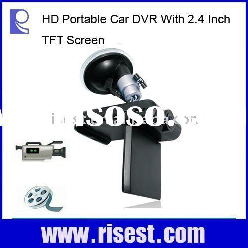 2.4 Inch TFT LCD Car Video Camera, Car DVR, Wireless CCTV Systems, Wireless Camera Monitoring System