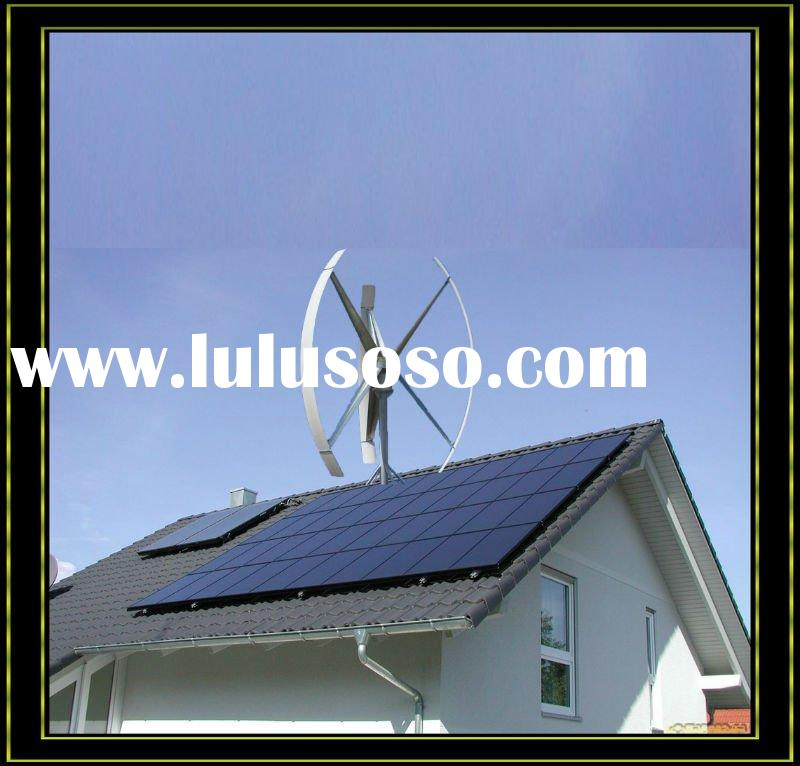 3KW Vertical axis Wind Turbine for house rooftop ,High generating efficiency,3 Years Free Maintenanc