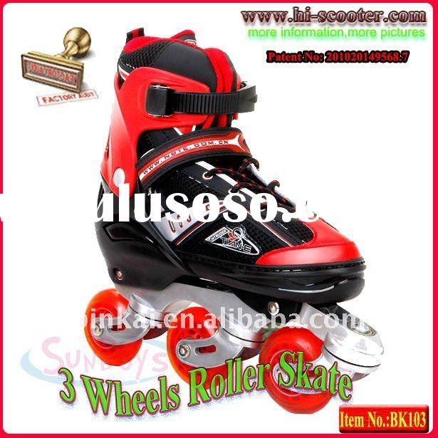 3 Wheels Inline Skate,New Twist Skate Shoes, Drift Skate,BK101