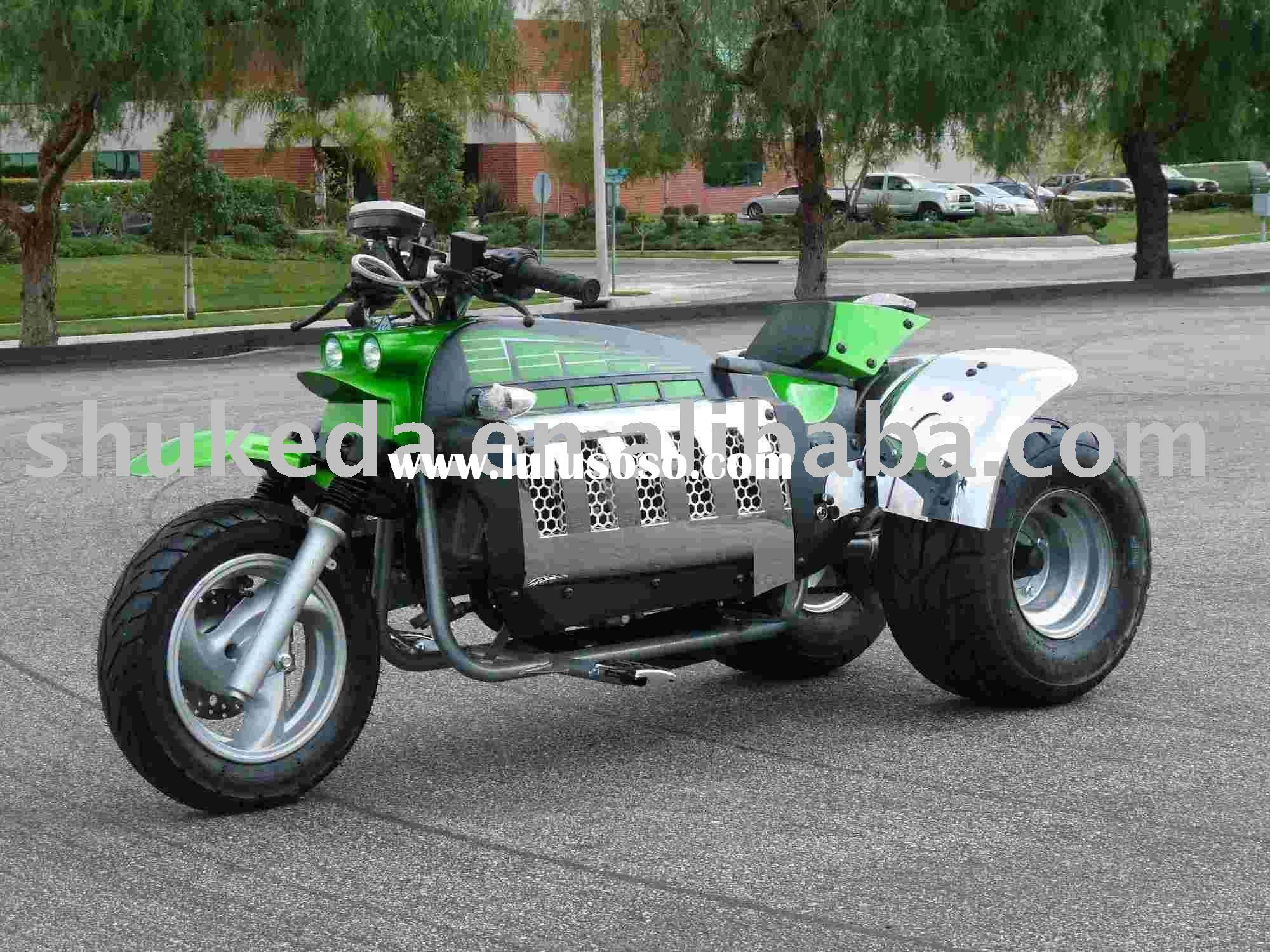 3 Wheels gas scooter