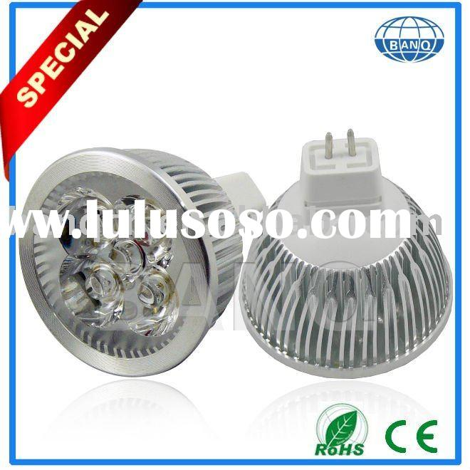 4X1W high power led bulb light ,high power led spotlight ,all color are available,MR16base (E27,GU10