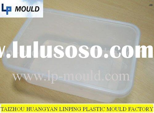 500ml disposable plastic thin wall food container injection mould