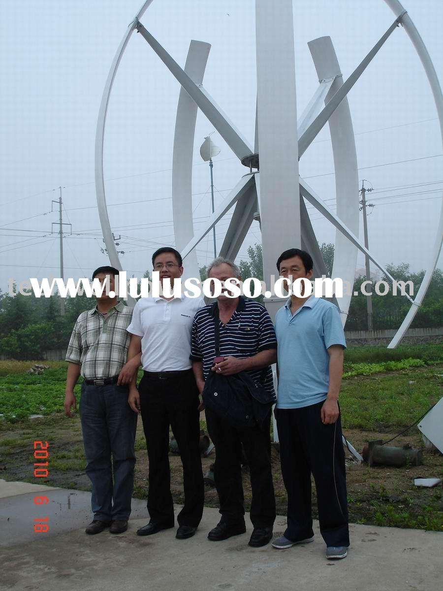 5kw Maglev vertical axis wind turbine generator
