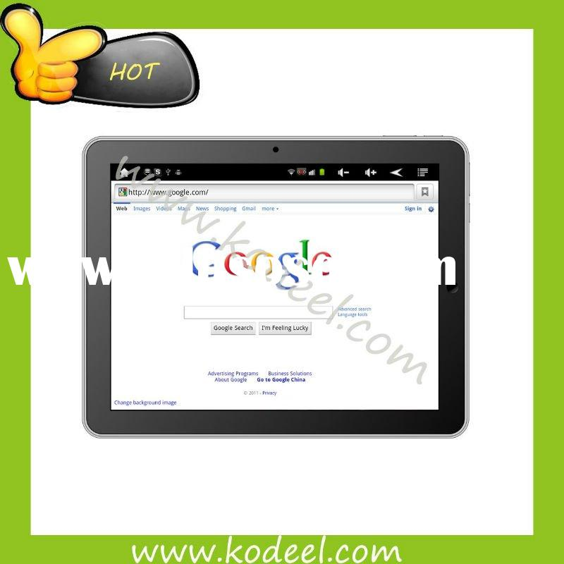 7 inch mid tablet PC manual android 2.3 capacitive touchscreen built-in 3G bluetooth laptops prices
