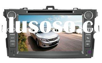 8 inch 2 din Special car DVD gps for toyota corolla NAVIGATION with Can-bus, TV, Bluetooth, IPOD, PI