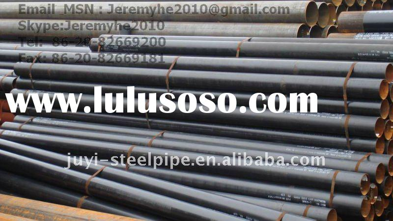 API 5L X46 psl 2 std Black C S Welded pipes Oil Transmission
