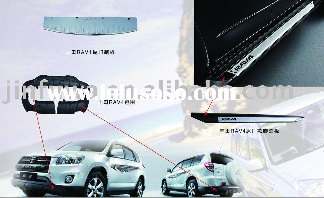 AUTO PARTS for the TOYOTA RAV4, Front Bumper,Rear Bumper,Grille Guard,Fender,Running Board,side bar,