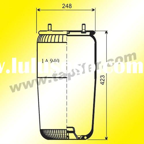Air spring for BPW truck parts 0542942040