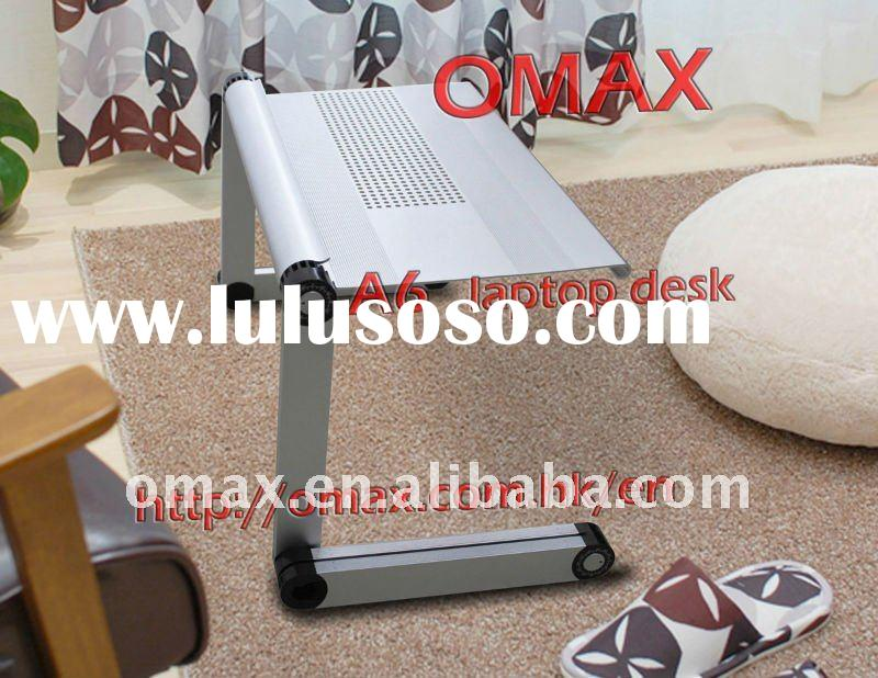 Aluminum Portable Folding Multifunction Desk For Laptop/Notebook/ TV Table/Bed Tray Cool!!! Smart!!!